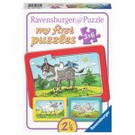 Ravensburger-06134 My First Puzzle - Farm Animals