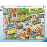 Ravensburger-06135 Frame Jigsaw Puzzle - Living City