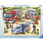 Ravensburger-06144 Frame Jigsaw Puzzle - Exciting Professions