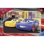 Ravensburger-06147 Frame Jigsaw Puzzle - Cars 3