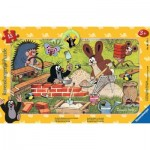 Ravensburger-06151 Frame Jigsaw Puzzle - The Little Mole