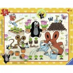 Ravensburger-06153 Frame Jigsaw Puzzle - The Little Mole