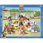 Ravensburger-06155 Frame Jigsaw Puzzle - Paw Patrol