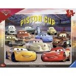 Ravensburger-06157 Frame Jigsaw Puzzle - Cars 3