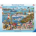 Ravensburger-06163 Frame Puzzle - Marina