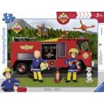 Ravensburger-06169 Frame Puzzle - Fireman Sam