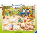 Ravensburger-06332 Jigsaw Puzzle - 40 Pieces - At the Farm