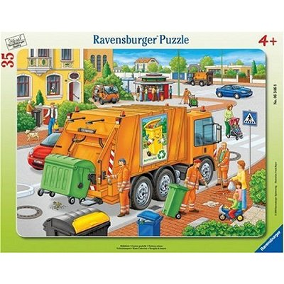 Ravensburger-06346 Jigsaw Puzzle - 35 Pieces - Waste Collection
