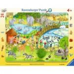 Ravensburger-06583 Frame Jigsaw Puzzle - Zoo