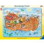 Ravensburger-06604 Jigsaw Puzzle - 48 Pieces - Noah's Arch