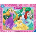 Ravensburger-06630 Frame Jigsaw Puzzle - Disney Princess