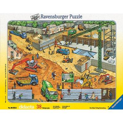 Ravensburger-06678 Jigsaw Puzzle - 38 Pieces - Building Site