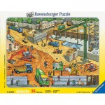 Ravensburger-06678 Jigsaw Puzzle - 38 Pieces - Building Site