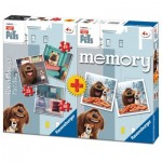 Ravensburger-06872 3 Jigsaw Puzzles The Secret Life of Pets + Memory