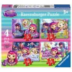 Ravensburger-06886 4 Jigsaw Puzzles - Little Charmers
