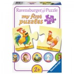 Ravensburger-06888 My First Puzzle - Farm Animals