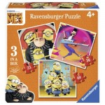 Ravensburger-06924 3 Puzzles - Minions