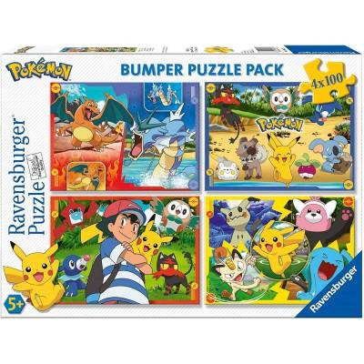 4 Puzzles - Pokemon