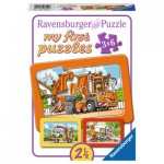 Ravensburger-06944 My First Puzzle - Vehicles