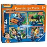 Ravensburger-06983 4 Puzzles - Rusty Rivets