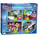 Ravensburger-07012 4 Jigsaw Puzzles - Miles From Tomorrow