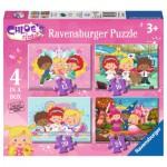 Ravensburger-07031 4 Jigsaw Puzzle - Chloe