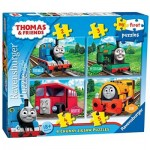 Ravensburger-07053 4 Jigsaw Puzzles - Thomas & Friends