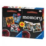 Ravensburger-07068 Dragons 3 Jigsaw Puzzle + Memory