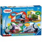 Ravensburger-07078 4 Jigsaw Puzzles - Thomas & Friends
