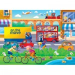 Ravensburger-07110 Floor Puzzle - On the Move