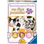 Ravensburger-07176 6 Jigsaw Puzzle - Baby Animals
