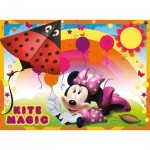 Ravensburger-07255 4 Jigsaw Puzzles - Minnie