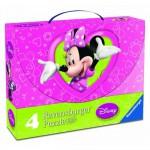 Ravensburger-07283 4 Jigsaw Puzzles - Minnie