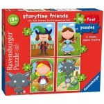 Ravensburger-07294 4 Jigsaw Puzzles - Storytime Friends