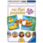 Ravensburger-07331 Jigsaw Puzzle - 9 x 2 Pieces - Adorable Animals