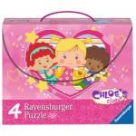 Ravensburger-07353 4 Jigsaw Puzzle - Chloe