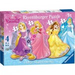 Puzzle  Ravensburger-07398 XXL Pieces - Disney Princess