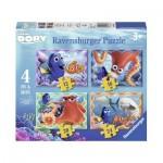 Ravensburger-07399 4 Jigsaw Puzzles - Dorie