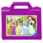 Ravensburger-07428 Puzzle Cubes - Disney Princess