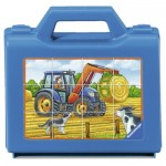 Puzzle  Ravensburger-07432 Vehicles On Farm