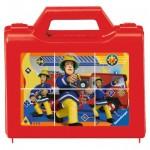 Ravensburger-07437 Cube Jigsaw Puzzle - Fireman Sam