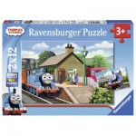 Ravensburger-07583 2 Jigsaw Puzzles - Thomas & Friends