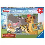 Ravensburger-07599 2 Jigsaw Puzzles - The Lion Guard