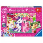Ravensburger-07600 2 Jigsaw Puzzle - My Little Pony