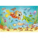 Ravensburger-07603 2 Jigsaw Puzzle - Diving