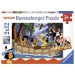 Ravensburger-07607 2 Jigsaw Puzzles - Yakari