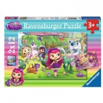 Ravensburger-07608 2 Jigsaw Puzzles - Little Charmers