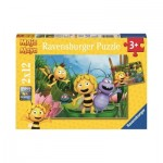 Ravensburger-07624 2 Puzzles - Maya the Bee