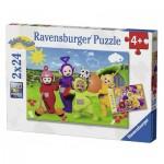 Ravensburger-07804 2 Jigsaw Puzzles - Teletubies