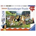 Ravensburger-07807 2 Jigsaw Puzzles - Yakari